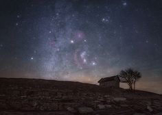 """On the Edge - The Orion constellation rises in the sky behind the old fishing shed. The area around Orion is full of nebulosity that gives beautiful colors on the night sky.    Keep up to date with my latest photos on <a href=""""https://www.facebook.com/tannerstedtphoto"""">Facebook </a>  or follow <a href=""""https://instagram.com/tannerstedtphotography""""> my Instagram</a>"""