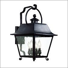 Troy Lighting BRISTOL 4LT WALL LANTERN by Troy. $644.00. 4 Light Wall Lantern LargeBristol CollectionCategory: Exterior Wall LanternDiameter: 0.00Length: 0.00Width: 12.75Height: 21.25Extends: 14.25ADA Compliant: N/AMetalwork: Hand Forged IronMounting: Wall MountNumber of Bulbs: 4 Type of Bulb: CandelabraMax Wattage: 60 Ships Via: Freight Truck