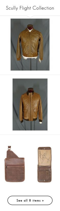 Scully Flight Collection by charles-yoder on Polyvore featuring women's fashion, outerwear, jackets, lambskin jacket, lambskin leather jackets, bomber style jacket, lamb leather bomber jacket, lambskin leather bomber jacket, men's fashion and men's clothing