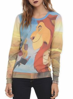 Disney The Lion King Girls Pullover Top | Hot Topic