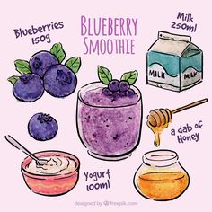 Blueberry Smoothie Inspiration