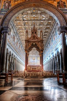 The Papal Basilica of St Paul Outside the Walls Rome