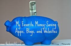 These money-saving apps, blogs, and websites can really help you to stretch your dollars!