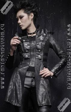 I found 'Steampunk Coat' on Wish, check it out!