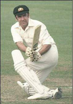 30 Bob Simpson, 1963, 39-12-12-15. He captained the team from 1963–64 until 1967–68. After ten years in retirement, he returned at age 41 to captain Australia during the era of World Series Cricket.