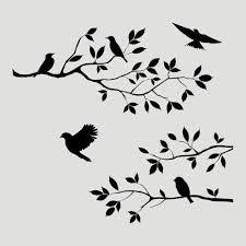 36 Best Door Images In 2016 Stencils Tree Stencil Bird