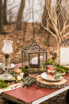 Woodsy Wedding Inspiration Shoot | Photo by Callan Photo | Styling by Style My Bridal #wedding #shoot