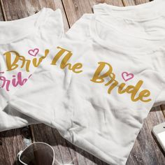 Perfect for your engagement announcement, bridal shower, bachelorette party, rehearsal dinner, and wedding day preparations! https://etsy.me/2IceQ1a #bacheloretteparty #literaryelements #bride #wedding #tshirt