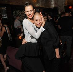 My two favorite: Karlie and Jason Wu