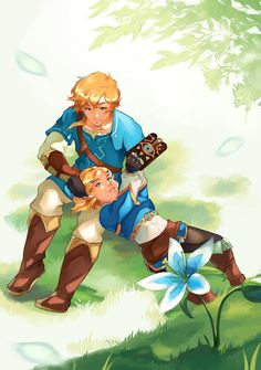 The Legend Of Zelda, Legend Of Zelda Breath, Four Year Anniversary, Fan Drawing, Video Game Companies, I Need Friends, Link Zelda, Fun Games, Awesome Games