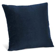 Room & Board - Velvet Modern Throw Pillows - Modern Solid Throw Pillows - Modern Home Decor Modern Throw Pillows, Gold Pillows, Velvet Pillows, Decorative Throw Pillows, Accent Pillows, Velvet Room, Blue Velvet, Modern Bedroom Furniture, Modern Room