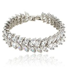#jewelry #styles This fabulous jewelry is made of cubic zirconia and the bedazzling stones make you feel more ladylike. Cubic #zirconia, as a beautiful synthetic...