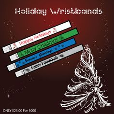 www.Trendywristbands.com: holiday