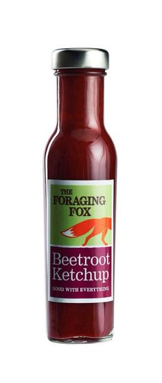 The Foraging Fox Beetroot Ketchup!