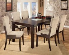 2018 dining table decorating ideas for today's home - Dining Room Dining Room Table Centerpieces, Black Dining Room Chairs, Dining Room Table Decor, Country Dining Rooms, Dining Room Design, Dining Tables, Dining Set, Room Decor, Contemporary Dining Room Furniture