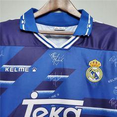 Real Madrid 1994-96 Away Retro football kit jersey