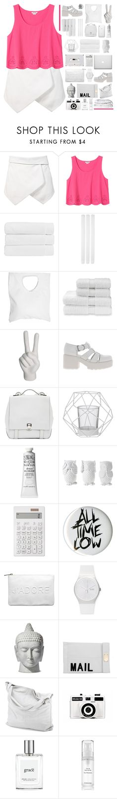 """HOW I WANT IT"" by everything-is-peachy ❤ liked on Polyvore featuring Monki, Christy, Jennifer Haley, nOir, Vagabond, Proenza Schouler, Bloomingville, Design 55, Muji and Hot Topic"