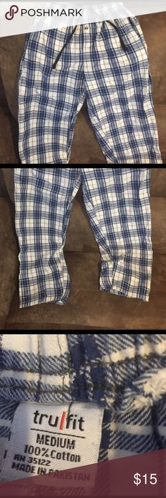 Plaid pj pants Excellent condition, washed never worn. Dog friendly smoke free home trufit Pants Sweatpants & Joggers