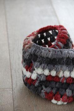 Háčkovaný nákrčník - ananasový vzor / Crochet cowl - pineapple pattern