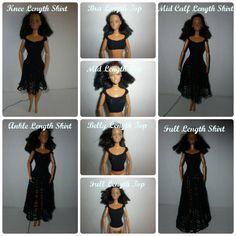 Barbie Crochet 8 in I ♥ Free Pattern