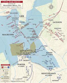 52 Best Civil War Battle Maps images