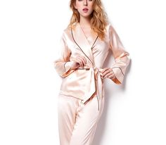 silk pajamas silk robes for bridesmaids real silk pajamas    https://www.snowbedding.com/