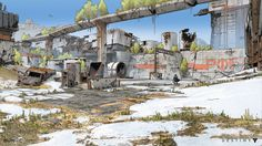 ArtStation - デスティニー:Cosmodromeラインワーク、ドルジェBellbrook