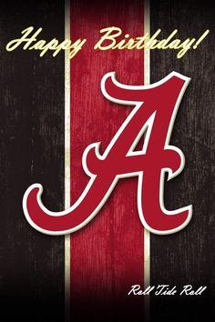 A over Ribbon Lsu Alabama, Alabama Football Team, Crimson Tide Football, Alabama Crimson Tide, Pittsburgh Steelers, Happy Birthday Messages, Birthday Images, Birthday Greetings, Grandson Birthday Cards