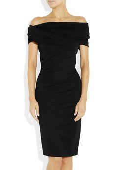 Donna Karan Draped crepe-jersey dress