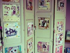 Gallery Wall, Frame, Home Decor, Salvaged Doors, Recycled Furniture, Antique Doors, Aesthetic Center, Folding Screens, Chairs