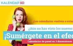 Website Kalendar 3D www.kalendar3d.com