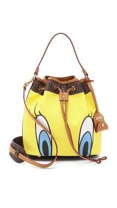 Moschino Tweety Bird Bucket Bag