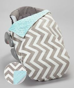 Take a look at this Lolly Gags Tiffany Blue & Silver Chevron Minky Car Seat Blanket Set on zulily today! Car Seat Blanket, Security Blanket, Tiffany Blue, Cute Kids, Cute Babies, Cozy Cover, Getting Ready For Baby, Future Mom, Baby Fever