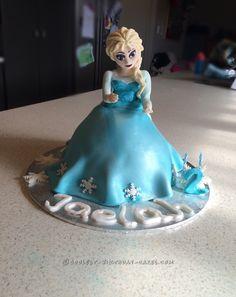 Coolest Elsa Cake... Coolest Birthday Cake Ideas