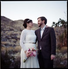 Alicia + Dylan at Korakia Pensione: Palm Springs | Rad + In Love Photography