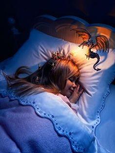 La rêveuse !