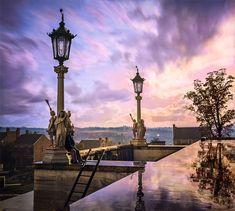 La vue depuis le Capitole à Nashville, en 1864