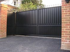 Image result for automatic gate for privacy