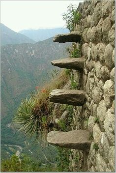 Death steps,  Machu Picchu