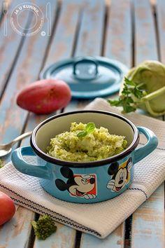 JA U KUHINJI...: Hrana za najmlađe: Kašica od brokolija i kelerabe