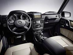 The new Mercedes-Benz G-Class 2012