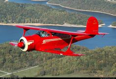 Beech D17S Staggerwing--Perhaps the most beautiful airplane ever. Though not as comfy as a G5, for sure.