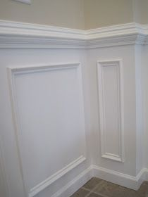 Designed To Dwell Tips For Installing Chair Rail & Wainscoting 48 Inch Tv 48 Inch Dog Crate – Stlaurencechurch Northfield Home Design, Interior Design, Wainscoting Bathroom, Wainscoting Stairs, Wainscoting Ideas, Wainscoting Height, Wall Molding, Moulding, Moldings And Trim