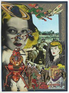 TANAAMI Keichi - collage book  - 1969 / 1971