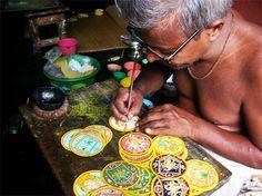 Aged Painter, Raghurajpur, Orissa