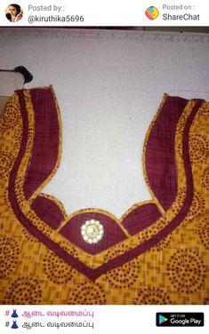 Churidhar Neck Designs