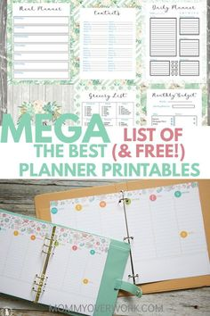 Life Organization Printables Templates Track 39 Ideas For 2019