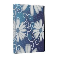 Sky Blue Floral Dotted Tribal Daisy Tattoo Pattern iPad Folio Covers online after you search a lot for where to buyDiscount Deals          	Sky Blue Floral Dotted Tribal Daisy Tattoo Pattern iPad Folio Covers lowest price Fast Shipping and save your money Now!!...