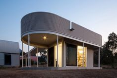 Home-Office Pavilion With a Striking Modern Architecture in Australia