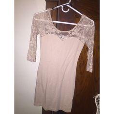 dress long sleeved tan dress Dresses Long Sleeve